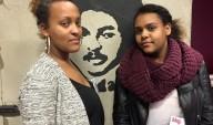 Dawits döttrar Betlehem & Danait Isaak vid cellen under Mediedagarna