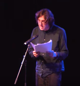 David Berridge reading about Dawit Isaak and a little from his work.